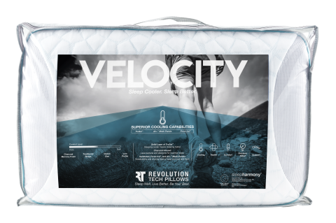 VELOCITY CHARCOAL INFUSED BLUE CHILL PILLOW 2 (Mobile)